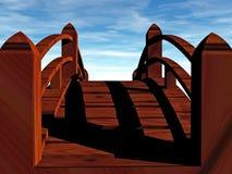 γέφυρα σε άγνωστο Στοκ φωτογραφία με δικαίωμα ελεύθερης χρήσης