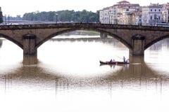 Γέφυρα σε Arno στοκ εικόνες με δικαίωμα ελεύθερης χρήσης