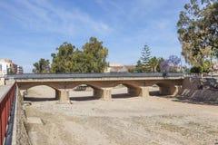 Γέφυρα σε Fuente Alamo, Ισπανία στοκ εικόνα με δικαίωμα ελεύθερης χρήσης