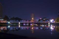 Γέφυρα σιδήρου Στοκ φωτογραφία με δικαίωμα ελεύθερης χρήσης