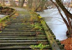 Γέφυρα σιδηροδρόμου πέρα από τον ποταμό αλεπούδων Στοκ Φωτογραφία