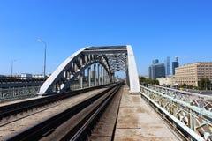 Γέφυρα σιδηροδρόμων Στοκ εικόνα με δικαίωμα ελεύθερης χρήσης