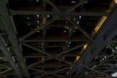 Γέφυρα σιδήρου Στοκ Φωτογραφίες