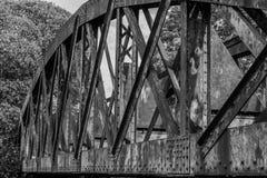Γέφυρα σιδήρου Στοκ Εικόνες
