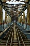Γέφυρα σιδήρου Στοκ εικόνες με δικαίωμα ελεύθερης χρήσης