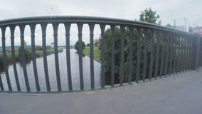 Γέφυρα σιδήρου Bolsheokhtinsky φιλμ μικρού μήκους