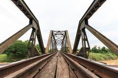 Γέφυρα σιδηροδρόμων Στοκ φωτογραφία με δικαίωμα ελεύθερης χρήσης