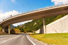 Γέφυρα στην εθνική οδό Στοκ Εικόνες