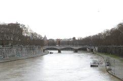 Γέφυρα στην καρδιά της Ρώμης στοκ εικόνες με δικαίωμα ελεύθερης χρήσης