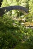 Γέφυρα στην κοιλάδα της Lyn Στοκ φωτογραφία με δικαίωμα ελεύθερης χρήσης