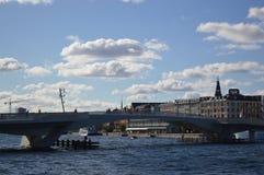 Γέφυρα στην Κοπεγχάγη στοκ φωτογραφία
