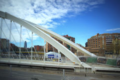Γέφυρα στη Βαρκελώνη Στοκ Εικόνες