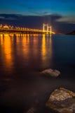Γέφυρα στη θάλασσα Στοκ φωτογραφίες με δικαίωμα ελεύθερης χρήσης