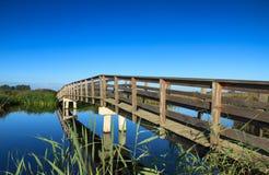 Γέφυρα στη φύση Στοκ φωτογραφίες με δικαίωμα ελεύθερης χρήσης