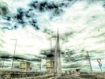 Γέφυρα στη Ada Βελιγράδι Σερβία Στοκ φωτογραφίες με δικαίωμα ελεύθερης χρήσης