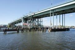 Γέφυρα στο Γκέτεμπουργκ Στοκ φωτογραφίες με δικαίωμα ελεύθερης χρήσης