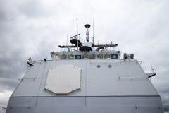 Γέφυρα στο ναυτικό σκάφος Στοκ φωτογραφίες με δικαίωμα ελεύθερης χρήσης