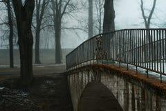 Γέφυρα στο πάρκο Στοκ Εικόνες
