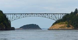 Γέφυρα στο πέρασμα εξαπάτησης Στοκ Φωτογραφία