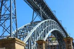 Γέφυρα στο Πόρτο, Πορτογαλία Στοκ φωτογραφία με δικαίωμα ελεύθερης χρήσης