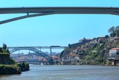 Γέφυρα στο Πόρτο, Πορτογαλία Στοκ Φωτογραφία