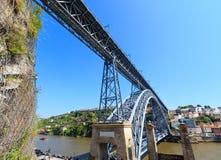 Γέφυρα στο Πόρτο, Πορτογαλία Στοκ φωτογραφίες με δικαίωμα ελεύθερης χρήσης