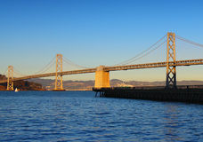 Γέφυρα στο Σαν Φρανσίσκο Στοκ Εικόνες