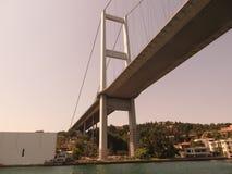 Γέφυρα στο Bosphorus Στοκ εικόνα με δικαίωμα ελεύθερης χρήσης