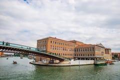 Γέφυρα συνταγμάτων, Βενετία Στοκ φωτογραφίες με δικαίωμα ελεύθερης χρήσης