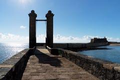 Γέφυρα σφαιρών Arrecife Στοκ Εικόνες