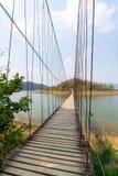 Γέφυρα σχοινιών Στοκ εικόνα με δικαίωμα ελεύθερης χρήσης