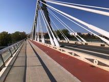 γέφυρα σύγχρονη Στοκ Φωτογραφίες