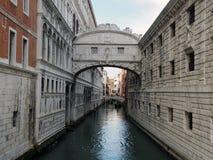 Γέφυρα της Βενετίας doges στεναγμών του παλατιού και του καναλιού Στοκ φωτογραφίες με δικαίωμα ελεύθερης χρήσης