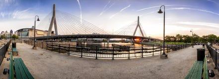 γέφυρα της Βοστώνης zakim Στοκ Φωτογραφίες