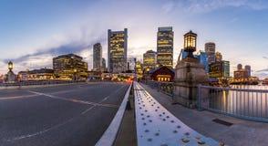 γέφυρα της Βοστώνης zakim Στοκ εικόνες με δικαίωμα ελεύθερης χρήσης