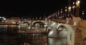 Γέφυρα της Βουδαπέστης απόθεμα βίντεο