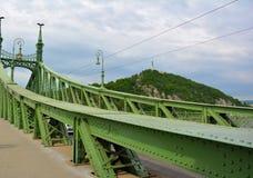 Γέφυρα της Βουδαπέστης στοκ εικόνα με δικαίωμα ελεύθερης χρήσης