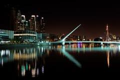 Γέφυρα της γυναίκας, Μπουένος Άιρες Στοκ εικόνες με δικαίωμα ελεύθερης χρήσης
