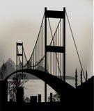 Γέφυρα της Ιστανμπούλ διανυσματική απεικόνιση