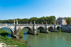 Γέφυρα της Ιταλίας, Ρώμη Στοκ Εικόνα