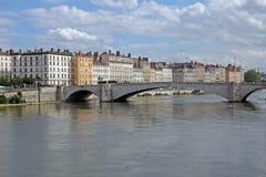 Γέφυρα της Λυών Στοκ εικόνα με δικαίωμα ελεύθερης χρήσης