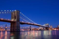 Γέφυρα της Νέας Υόρκης Στοκ φωτογραφίες με δικαίωμα ελεύθερης χρήσης