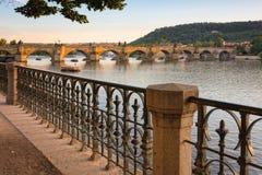 Γέφυρα της Πράγας Στοκ Εικόνα