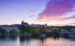 Γέφυρα της Πράγας Στοκ φωτογραφίες με δικαίωμα ελεύθερης χρήσης