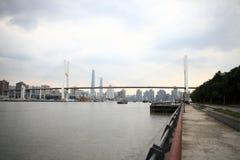 Γέφυρα της Σαγκάη Nanpu Στοκ Φωτογραφίες