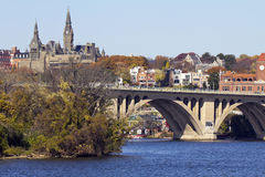 Γέφυρα της Τζωρτζτάουν Στοκ φωτογραφία με δικαίωμα ελεύθερης χρήσης