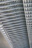 Γέφυρα της Ada αναστολής - μορφωματική λεπτομέρεια πλαισίου δοκών - Belgra Στοκ φωτογραφίες με δικαίωμα ελεύθερης χρήσης
