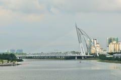 Γέφυρα της Seri Wawasan Στοκ εικόνα με δικαίωμα ελεύθερης χρήσης