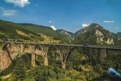 Γέφυρα της Tara στο Μαυροβούνιο, Zabljak Στοκ Εικόνες
