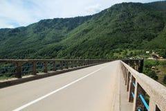 Γέφυρα της Tara Durdevica, Μαυροβούνιο Στοκ Εικόνες